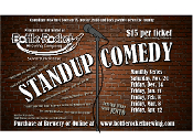 Bottle Rocket Brewing Company Comedy Night April 13, 2018